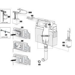 Support robinet flotteur a...