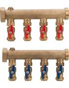 Distributeur, répartiteur modulaire, compteurs thermiques