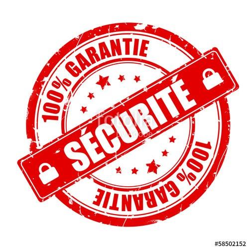 Votre sécurité est une priorité pour nous. Toutes nos transactions sont sûres et garanties car nous utilisons la norme de sécurité SSL