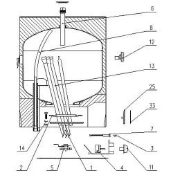 Radiateur 1000W/230V convient pour ballon EVENES OGBS30SM