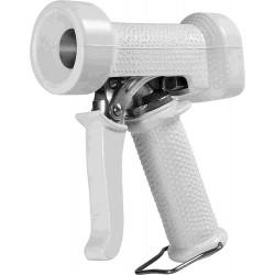 Pistolet de lavage professionnel en acier chromé