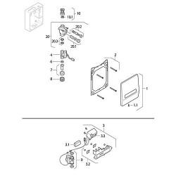 Geberit batterie pour IRB electronique Ref.-Nr.240.143.00.1