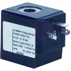 Bobine de rechange Type 0012 230V/50HZ 43/24VA für Electrovanne D 432_ 1002 012 3/8-1/2