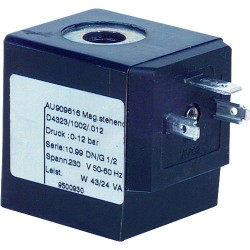 Bobine de rechange Type 0012 24V courant continu pour Electrovanne D 432_ 1002 012 3/8-1/2