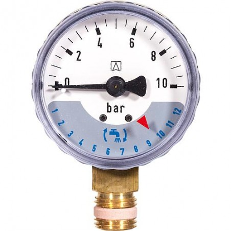 Manomètre 0-16bar M70AF-A16