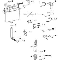 Caisse de protection chantier avec couvercle A31/B31