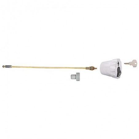 Kit broche avec tête de robinetterie et une paire de clé