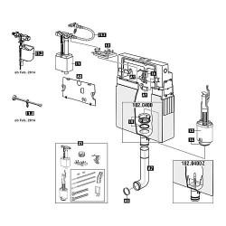 Plaque de recouvrement Schwab pour modele 182.0400