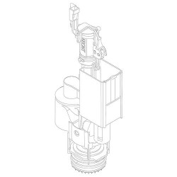 Mécanisme WC pour Corralo 3
