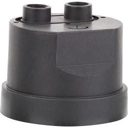 Boîtier de raccordement de moteur à 2 trous, compatible Zehnder : Pompe submersible pour eaux usées E-ZW