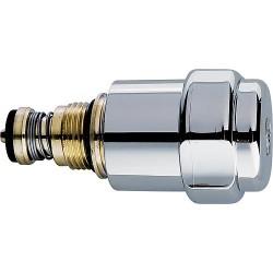 """Tête de robinetterie à compartiment à graisse originale WAS, 3/8"""", avec clapet anti-retour"""