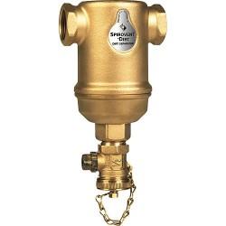 "Désemboueur Spirotrap horizontal raccord femelle DN32 (1""1/4) boitier laiton"