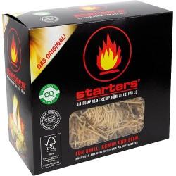 Allume-feu écologique en laine de bois