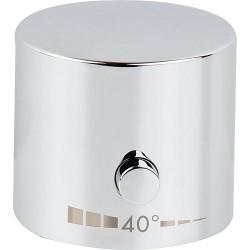 Poignée, compatible Hansgrohe : Thermostat 4 trous Axor Uno