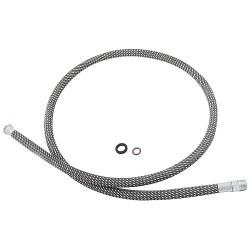Tuyau en fibres, compatible Kludi : Steel 38857
