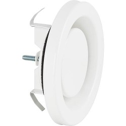 Element d'aération AEE 160 blanc RAL 9010, raccord 160 D, ext. 191 D