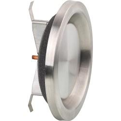Element d'aération AEE 100 inox raccord 100 D, ext 135 D