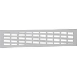 Grille d´aération en aluminium 400x80mm aluminium anodisé EV1
