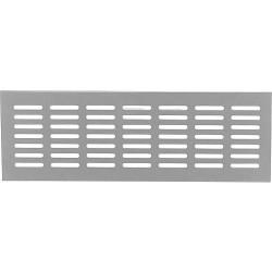 Grille d´aération en aluminium 500x130mm blanc RAL 9016