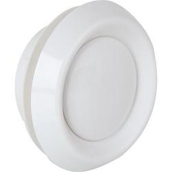 Soupape d´échappement de l'air d-100mm blanc