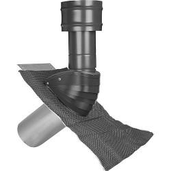 Protection de toit, (air) TYP SDL 100/125 noir