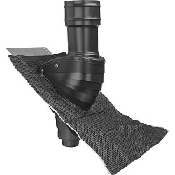 Protection de toit eaux usées Type SDS 100 noire