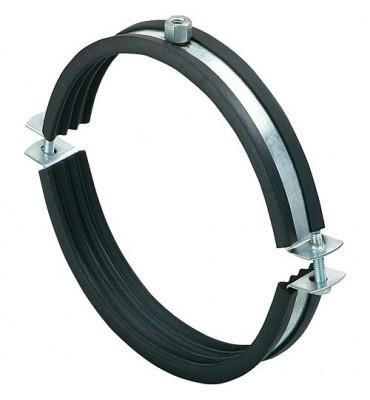 Collier d'attache de conduite d'aération LGS 125 Diamètre de tuyaux NW 125 (X10 pièces)