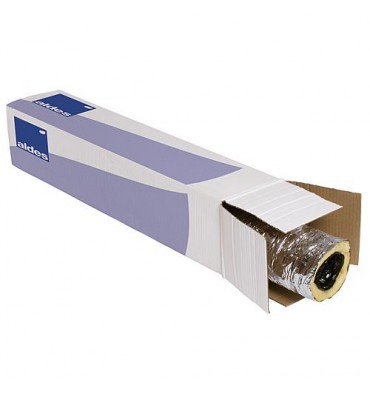 Tube aération flexible isolé Compact, en plastique 12 m en carton, d-80 mm