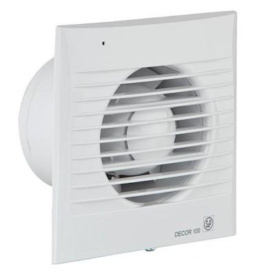 Ventilateur pour petites pièces Decor-100 CRZ (blanc) 230V, 50Hz Température ambiante 40° C