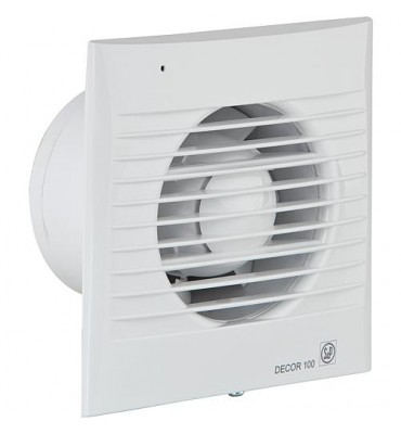 Ventilateur pour petites pièces Decor-100 CDZ (blanc) 230V, 50Hz Température ambiante 40° C