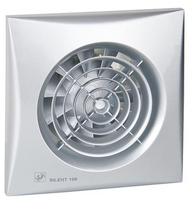 Ventilateur petite pc Silent-100 Silver CZ