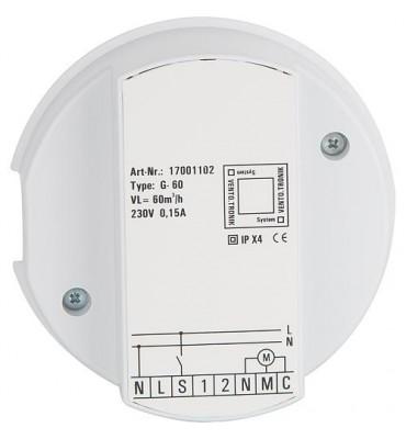 Module de commande Evenes V-NIE60 60m³/h, avec poursuite de fonctionnement variable, intermittent