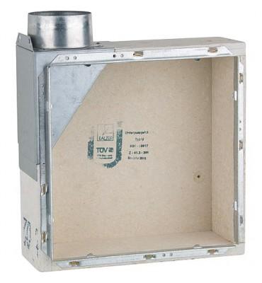 Boîtier d'extracteur encastré pour type U