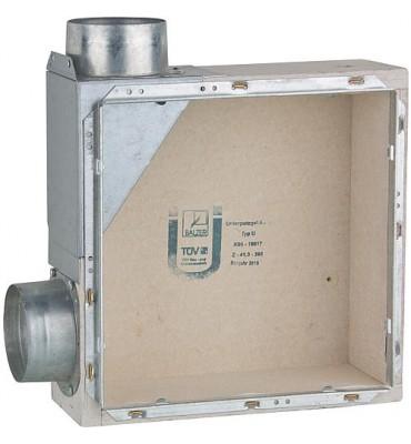 Boite encastrée evenes Type UL raccord pour pièce annexe gauche, avec anti-incendie