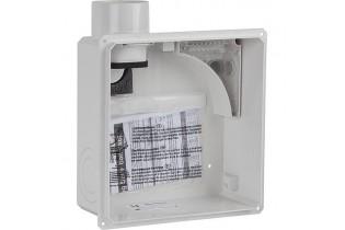 Boîtier encastré pour unité de ventilation type compact-II (Raccordement deux pièces)