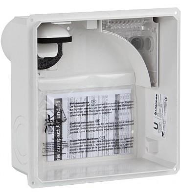 Boîtier encastré pour unité de ventilation type compact/H