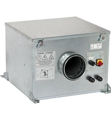 Caisson de ventilation insonorisé avec protection moteur triphasé, 230V CAB-200 Ecowatt