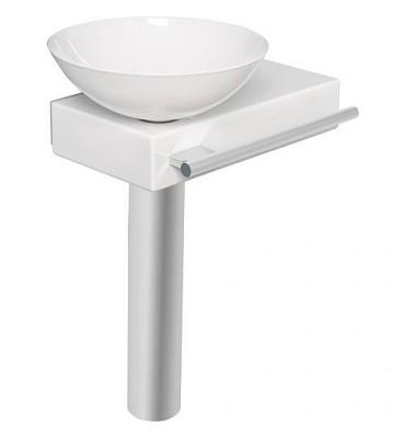 Plan de toilette avec console pour vasque Alape Piccolo WP.PI1
