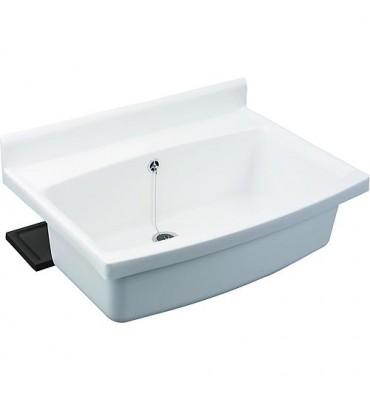 Déversoir/vidoir grand bassin avec tuyau de vidange automati. R2 et trémie