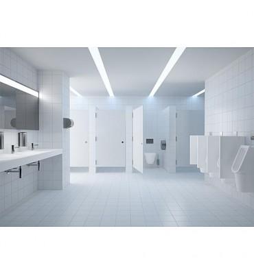 Mitigeur de lavabo Conti+lino L10 mélangé, chromé, sur pile sans vidage