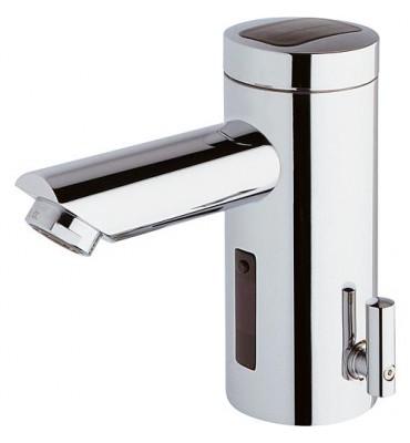 Mitigeur de lavabo Conti+Lino L10 mélangé, chromé, réseau sans vidage