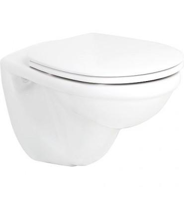 WC suspendu à fond creux, Basic