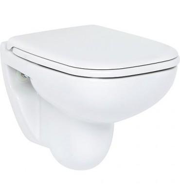 WC suspendu à fond creux D-Code Compact