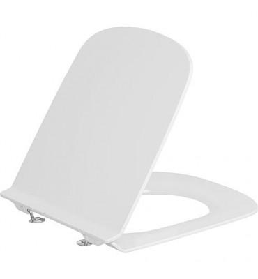 Abattant Duravit Durastyle Standard, blanc, charnière inox