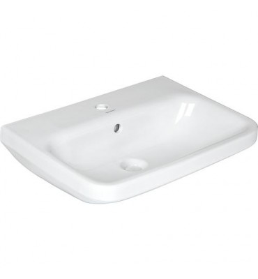 Vasque Duravit Durastyle 650 x 440 mm, blanc, avec trop-plein 1 trou de robinet central