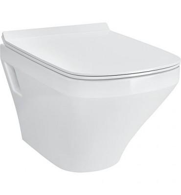 WC suspendu à fond creux DuraStyle, Compact