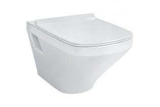 WC suspendu à fond creux DuraStyle, sans bord de rinçage