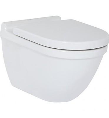 WC suspendu à fond creux, avec fixations cachées Starck 3