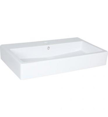 Vasque Duravit Vero, blanc avec trop plein 800x470x175mm