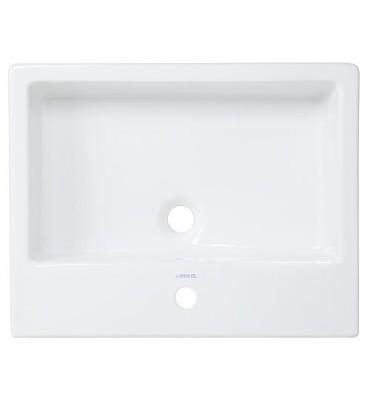 Vasque Duravit Vero, blanc avec trop plein 600x470x175mm